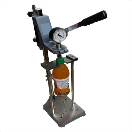 Vacuum Tester for Filled Bottle