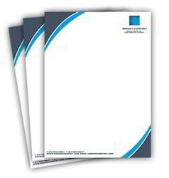 Full Color Letterhead Printing Services