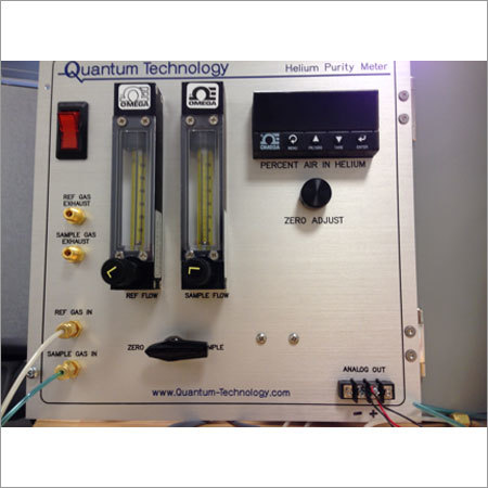 Helium Gas Purity Tester