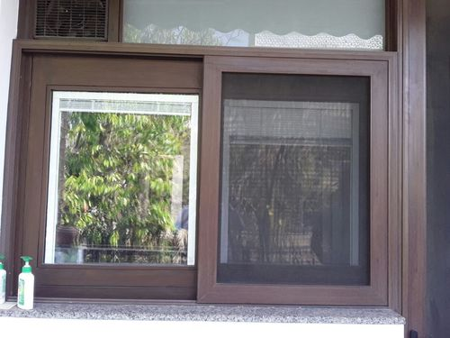 Sliding Security Mesh Screen