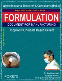 Isopropyl Linoleate Based Cream Formulation