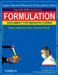 Epoxy Adhesive General Purpose Paste Formulation