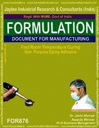 Fast Room Temperature General Purpose Epoxy Adhesive