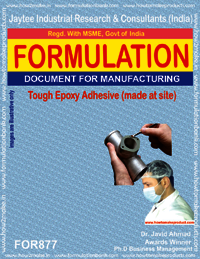 Tough Epoxy Adhesive Formulation