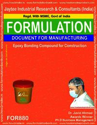 Epoxy Bonding Compound for Construction Formulation