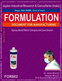 Epoxy Boat Patch Compound Cum Sealer Formulation