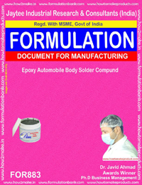Automobile Paints Formulation