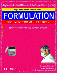 Epoxy Automobile Body Solder Compound