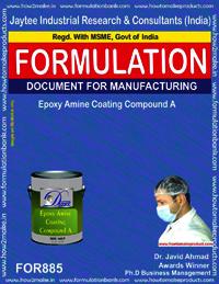 Epoxy Amine Coating Compound A Formulation