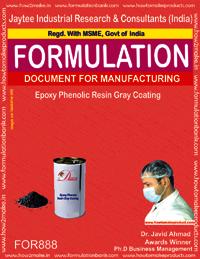 Epoxy Phenolic Resin Grey Coating Formulation