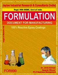 100% reactive Epoxy Coatings Formulation