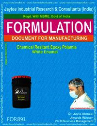 Chemical Resistant Epoxy Polamide White Enamel