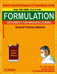 General Purpose Adhesive Formulation