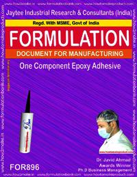 One Component Epoxy Adhesive Formulation