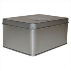 Square Tin Box