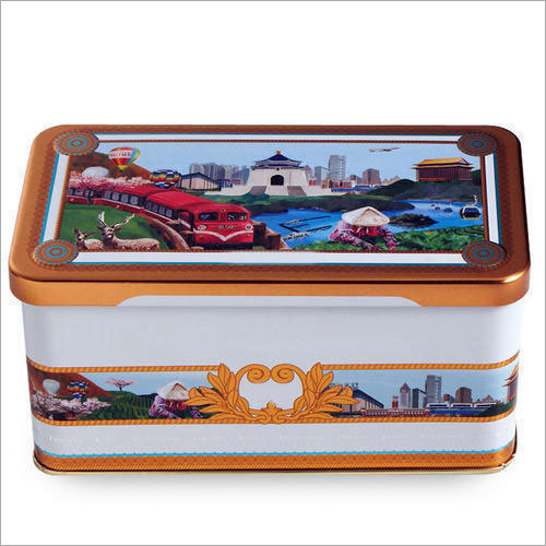 Printed Tin Box