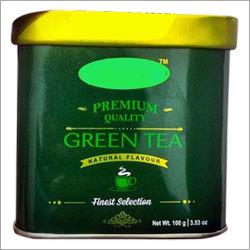 Green Tea Tin Box