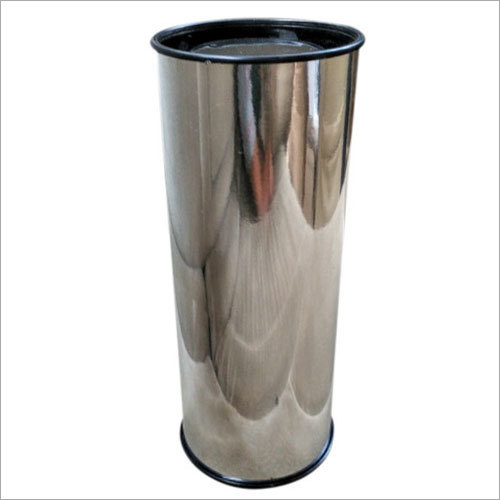 Cylindrical Tin Box
