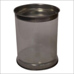 Plastic Tin Can