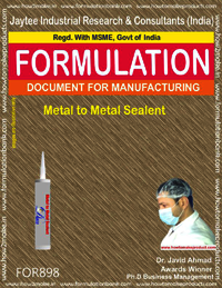 Metal to Metal Sealant Formulation