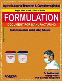 Room Temperature Curing Epoxy Adhesive Formulation