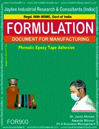 Phenolic Epoxy Tape Adhesive Formulation