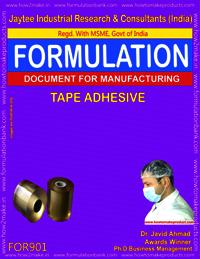 Tape Adhesive Formulation