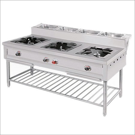 3 Burner Commercial Gas Range