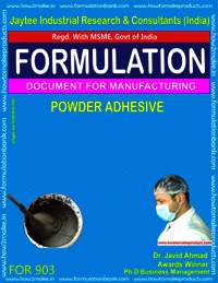 Powder Adhesive Formulation