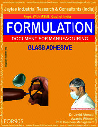 Glass Adhesive Formulation