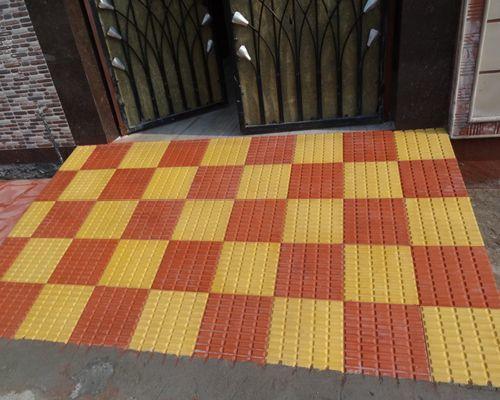 Floor Chequered Tiles