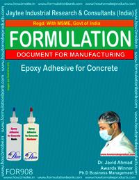 Epoxy Adhesive For Concrete Formulation