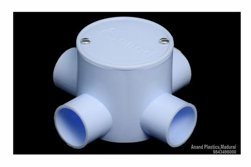 PVC Deep Junction Box (White)