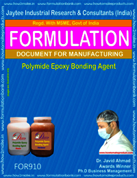 Polyamide Epoxy Bonding Agent Formulation