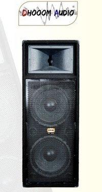 DJ Speaker Cabinet Dual 12''