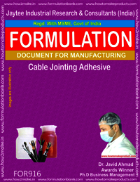 Cable Joining Adhesive Formulation