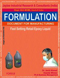 Fast Setting Retail epoxy Liquid