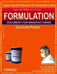Concrete Primer Formulation