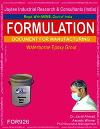 Waterborne Epoxy Grout Formulation