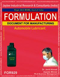 Automobile Lubricant Formulation