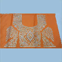 Silk Gota Patti Embroidered Blouse
