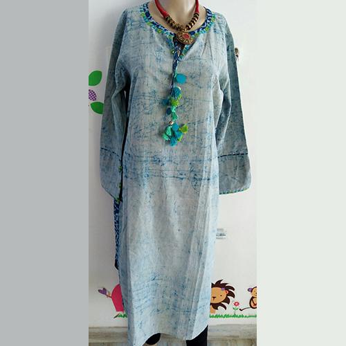 Batik Print Kurti