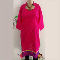 Fancy Cotton Casual Kurti