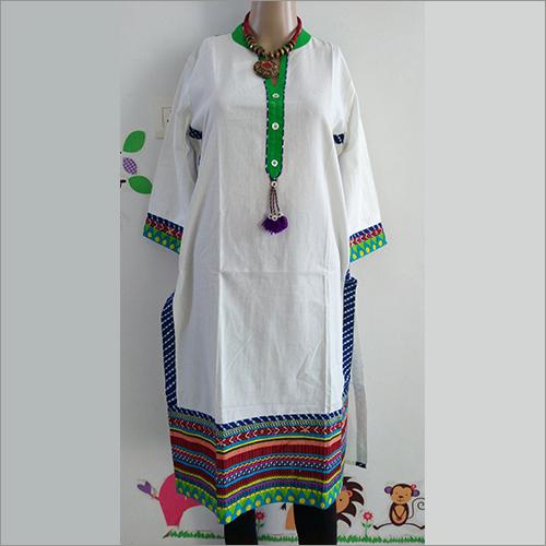 Designer Cotton Casual Kurti