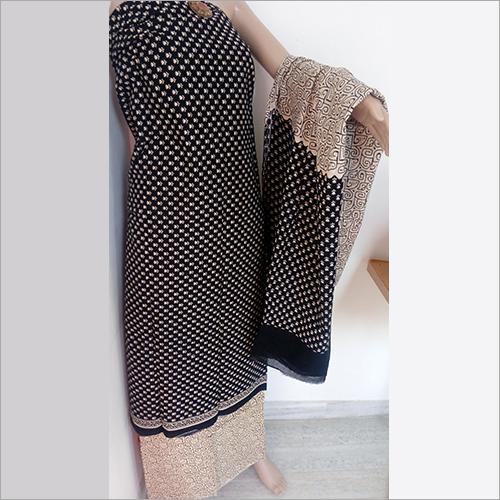 Black And Cream Suit Material