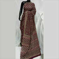 Dark Color Cotton Saree