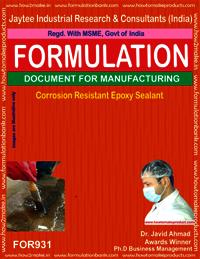 Corrosion Resistant Epoxy Sealant Formulation