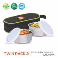 TWIN PACK TIFFIN CARRIER