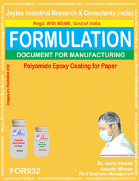 Adhesive Industry Formulations