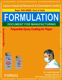 Polyamide epoxy Coatings for Paper Formulation